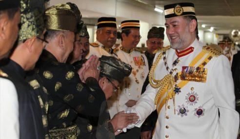 Sultan Muhammad V Muncul Di Khalayak Umum