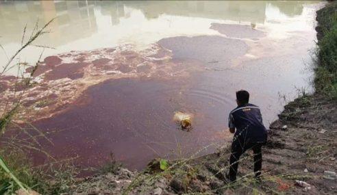 Sungai Klang Dicemari Bahan Kimia