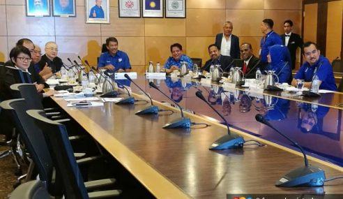 UMNO, MCA, MIC Mula Mesyuarat Bincang Nasib BN