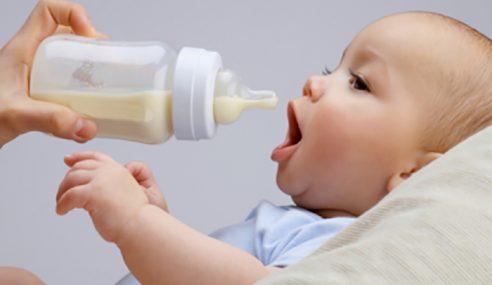 Bayi Diberi Susu Formula Seawal 4 Bulan Berisiko Obesiti