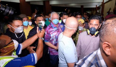 Najib Melawat Mangsa Pencemaran Toksik
