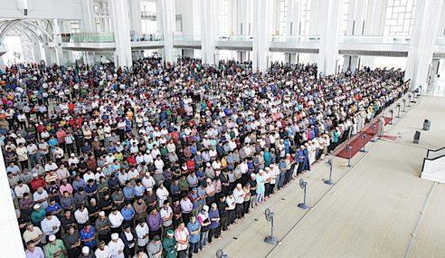 Masjid, Surau Solat Hajat Mohon Kedamaian Negara