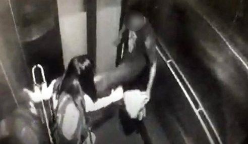 Lelaki Tak Mengaku Salah Rompak Dalam Lif Stesen MRT
