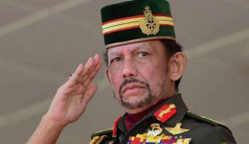 Sultan Brunei Adakan Lawatan Kerja Ke Malaysia Esok