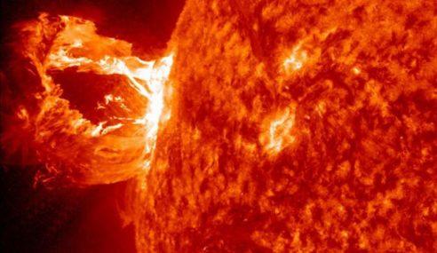 Ancaman Ribut Solar Berskala Besar Melanda Bumi