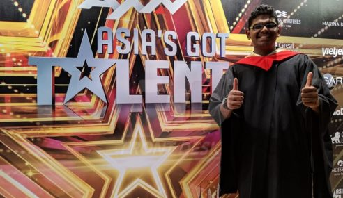 'Manusia Kalkulator' Tempat Kedua Asia's Got Talent 2019