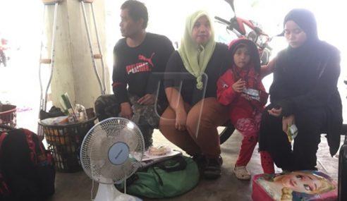 11 Keluarga Sedih 'Dihalau' Sebelum Ramadan