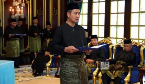 Sahruddin Sah Dilantik MB Johor Ke-17