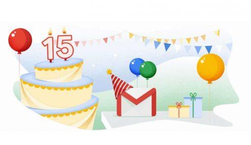Google Rai Ulang Tahun Gmail Ke-15
