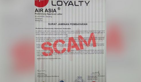 Hati-Hati Penipuan Bonus AirAsia Big Loyalty