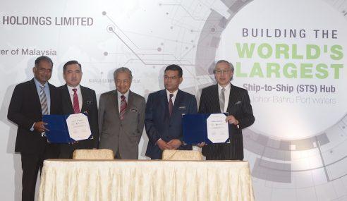 Projek STS: Kerajaan Negeri Johor Tahu – Mahathir