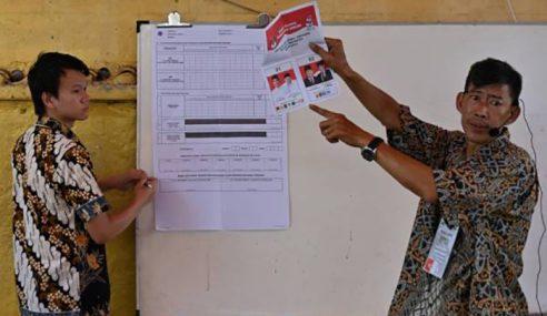 Pemilu Indonesia: Jokowi Dahului Prabowo