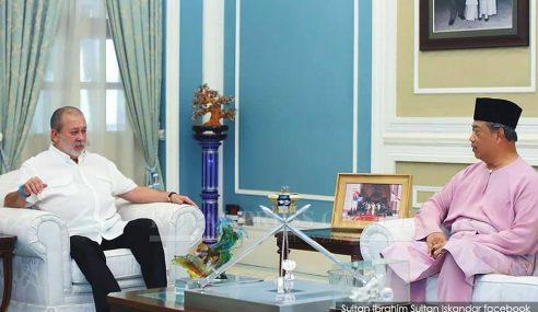 Barisan Exco Johor Yang Baharu Pasukan Muhyiddin