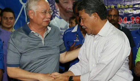 Najib Sedih Hibah Tabung Haji Turun