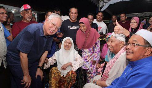 Najib Dedah PH Guna 9 Isu 'Serang' Tok Mat
