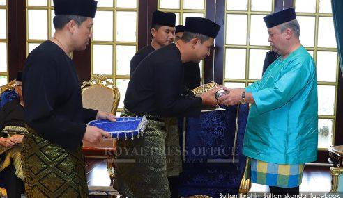 Sultan Ibrahim Titah MB Baharu Fokus Kepentingan Johor