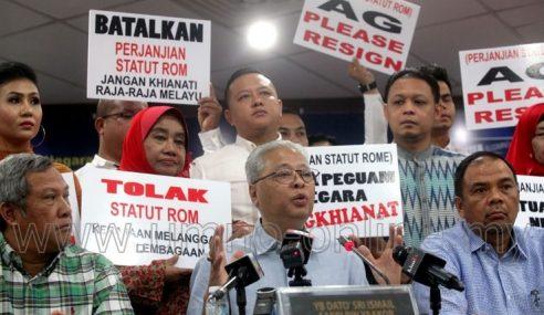 UMNO Bawa Isu Statut Rom Ke Istana Selangor