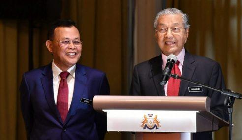 Osman Sapian Letak Jawatan Menteri Besar Johor