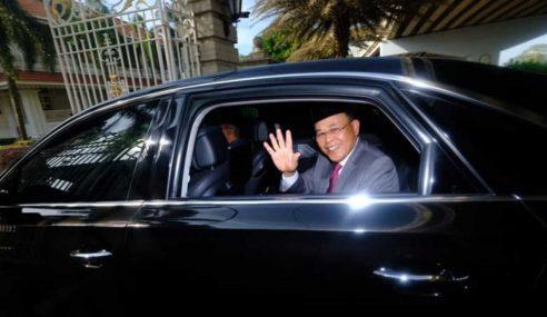 MB Johor Menghadap Sultan Ibrahim Hari Ini
