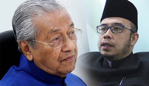 """Sebab Mufti Perlis Pekak,"" Kata Mahathir"