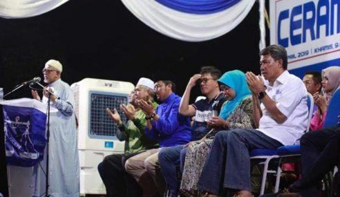 PRK Rantau: PH 'Penumpang' Kejayaan Tok Mat
