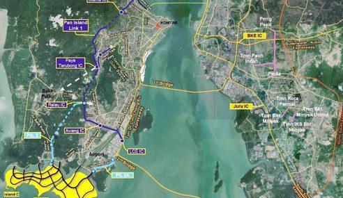 Projek Kontroversi Tambak Laut Selatan P.Pinang Lulus