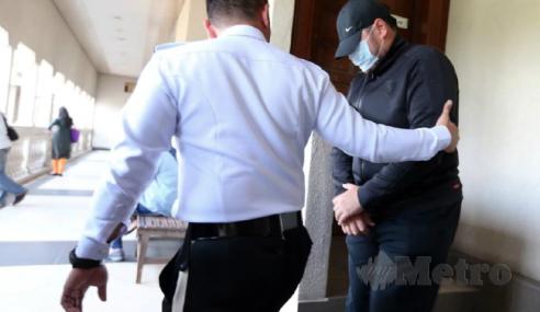 Penjara 3 Bulan Kerana Rempuh Polis Trafik