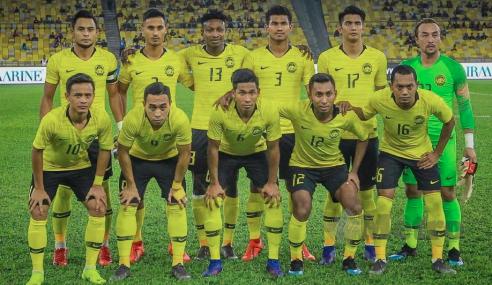 Harimau Malaya Jatuh Ke Ranking 168 Dunia