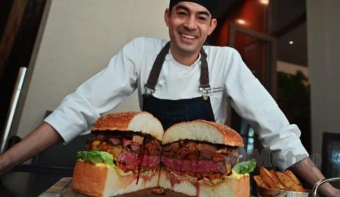 Burger Maharaja Jepun Berharga RM3,684.73