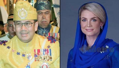 Gadis Sweden Jadi Suri Hati Tengku Mahkota Kelantan