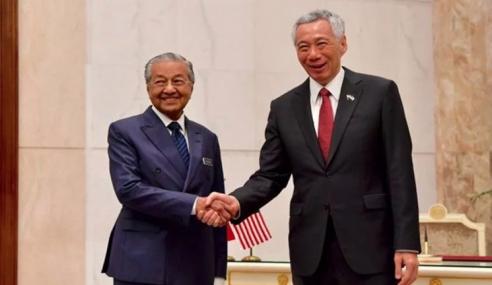 Mahathir, Hsien Loong Adakan Perbincangan Tahunan
