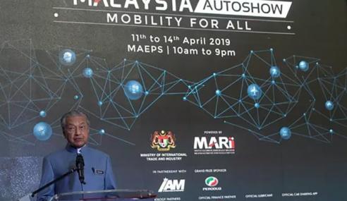 Mahathir Tolak Cadangan UMNO Muhyiddin Jadi MB