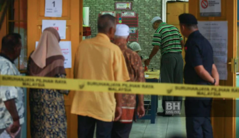 20,793 Pemilih DUN Rantau Keluar Mengundi Pagi Ini