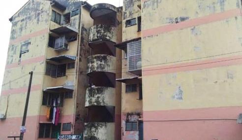 Flat Retak Di Keramat, 222 Penghuni Diarah Pindah