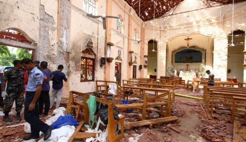 Angka Kematian Letupan Di Sri Lanka Cecah 290 Orang