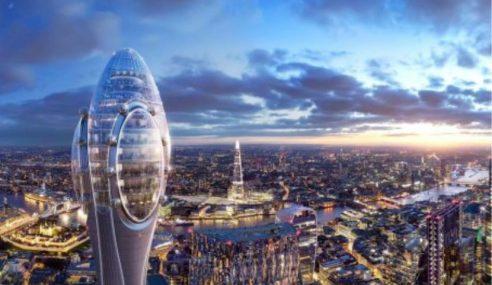 Bangunan 'Sperma Gergasi' Bakal Dibina Di London