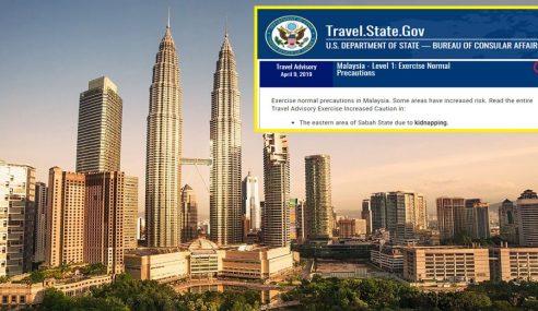 AS Digesa Keluarkan Malaysia Daripada Senarai 'K'
