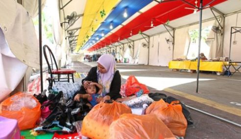 Bazar Ramadan Jalan Raja Lengang, Suram