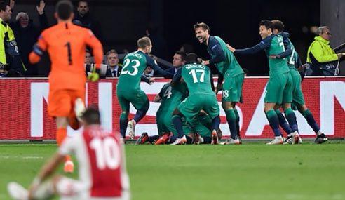 Spurs Lakar Kebangkitan Sensasi Singkir Ajax