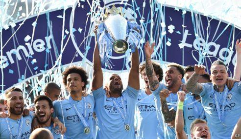 Manchester City Pertahankan Kejuaraan EPL