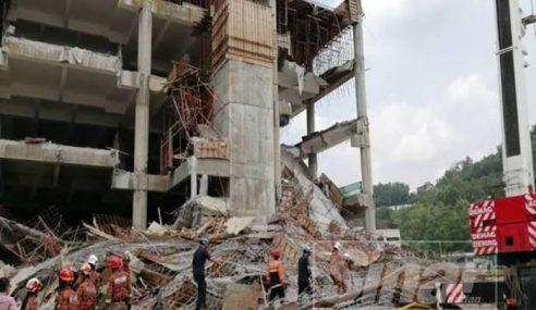 2 Mangsa Masih Terperangkap Runtuhan Bangunan