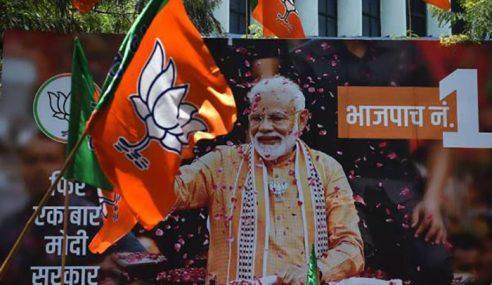 Parti BJP Menang Besar Di India