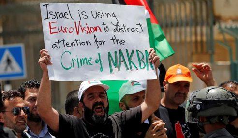 Hari Nakba, Ribuan Warga Palestin Berhimpun
