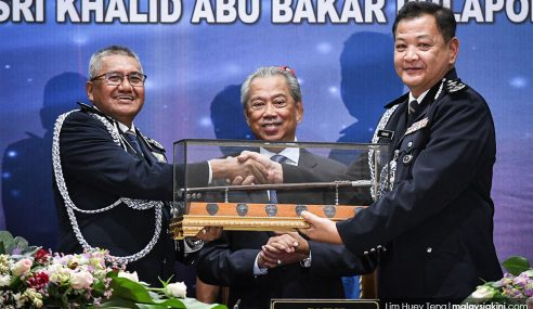 Muhyiddin Saksi Penyerahan Tugas Ketua Polis Negara