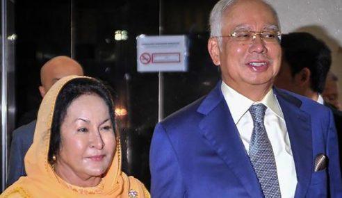Kerajaan Fail Mohon Sita Harta Najib, Rosmah RM711 Juta