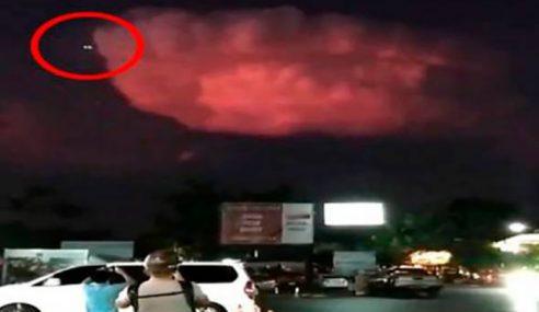 Penduduk Gempar UFO Terbang Di Langit Phuket