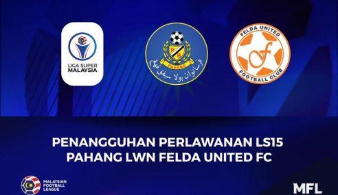 Pahang Hargai MFL Tunda Perlawanan Liga Super