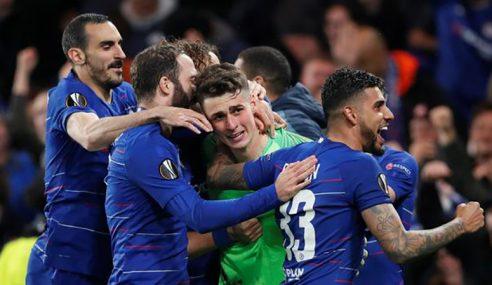 Chelsea Lengkapkan Detik Bersejarah Bola Sepak England