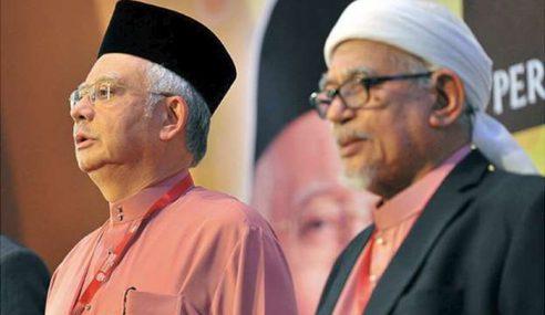 Najib, Hadi Rakam Ucapan Takziah