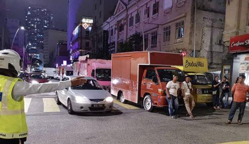 DBKL Benarkan Trak Makanan Beroperasi Di Jalan Raja